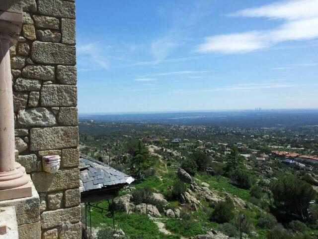 Vistas Desde El Canto Del Pico Foto Del 22 04 2013 Durante La