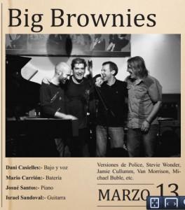 Big Brownies y Lucas Colman & la Banda caleidoscópica este fin de semana en Marboré