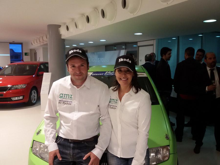Cóctel de inauguración de las instalaciones Skoda de Grupo Motor Gómez en Villalba